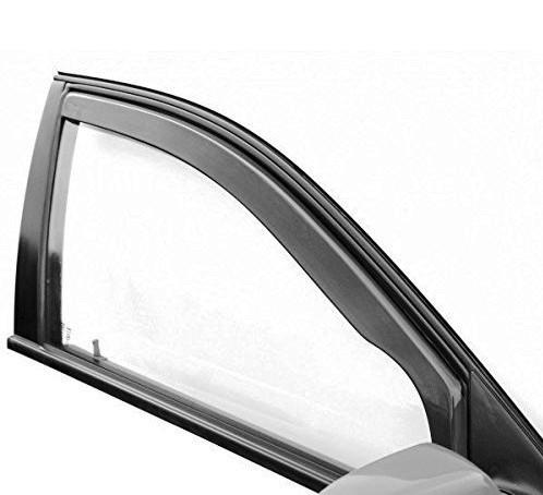 deflektory Heko - ilustračné foto na okne autombilu